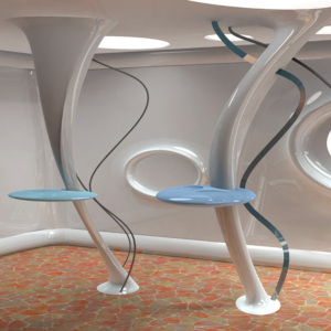 Morphic room by Steven Houtzager Intuition 300